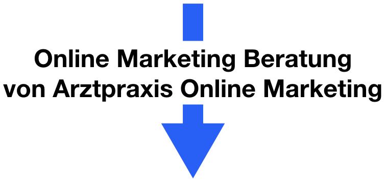 Online Marketing Beratung APOM (Pfeil)