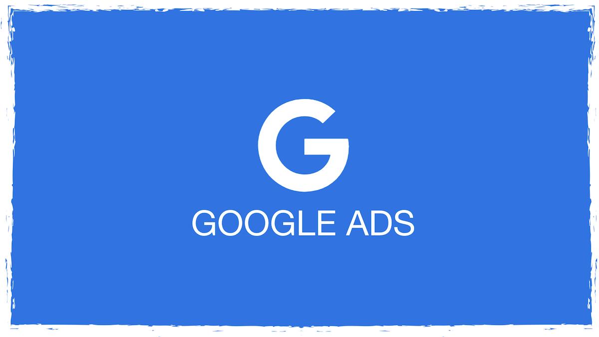 Google Ads blau