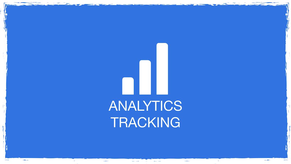 Tracking blau